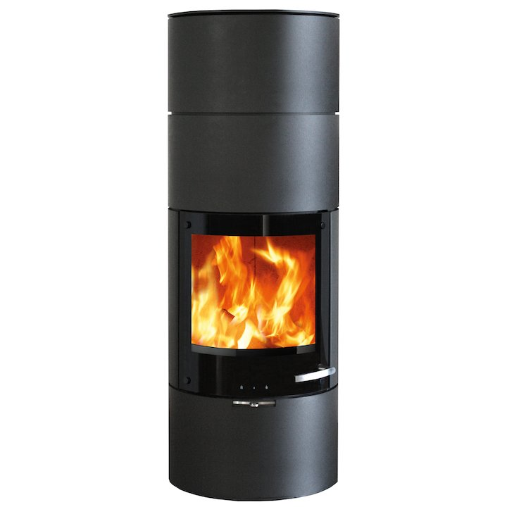 Skantherm Milano Medium Wood Stove - Black