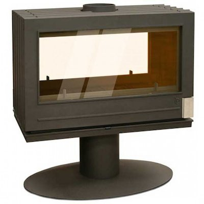 Invicta Nelson Double Sided Wood Stove