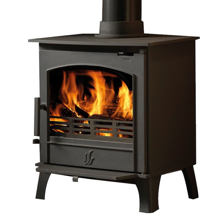 ACR Earlswood Multifuel Stove - Black