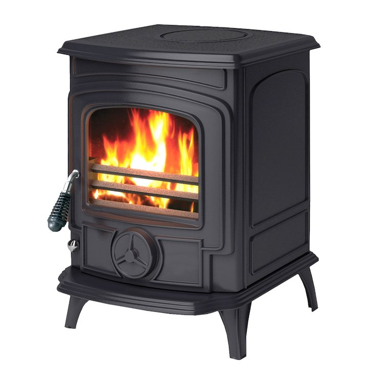 AGA Little Wenlock Multifuel Stove - Black