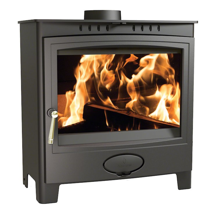 Arada Ecoburn Plus 11 Multifuel Stove - Midnight Black