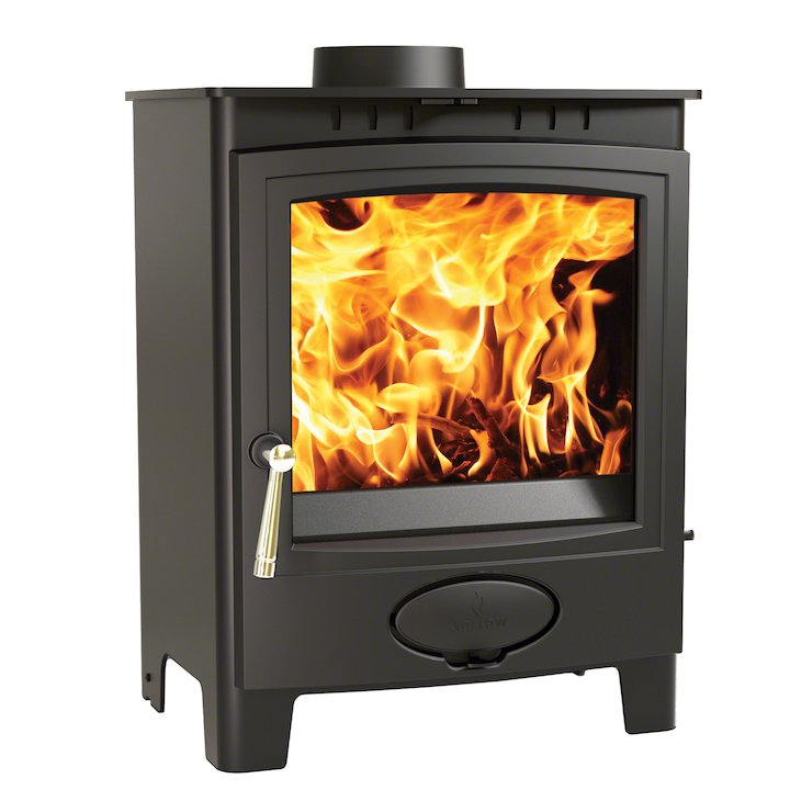 Arada Ecoburn Plus 7 Multifuel Stove - Midnight Black