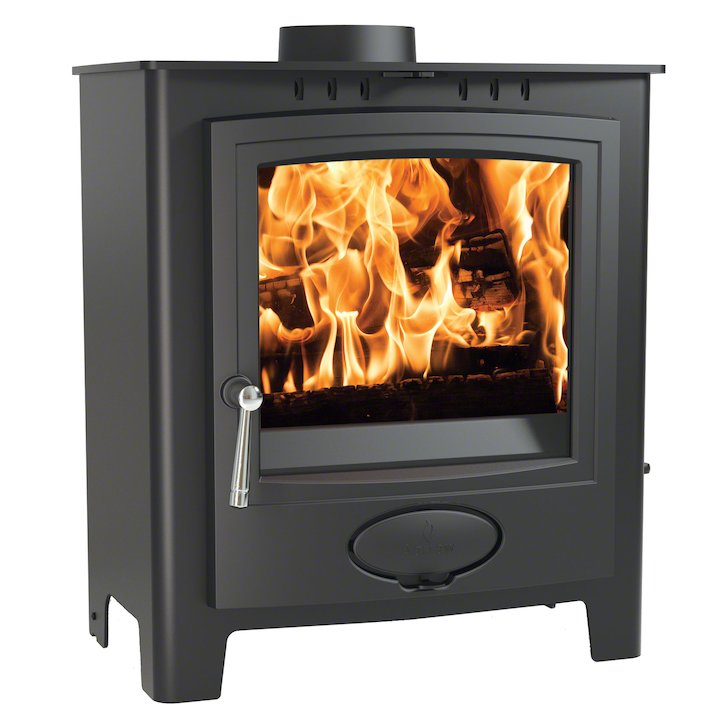 Arada Ecoburn Plus 9 Multifuel Stove - Midnight Black