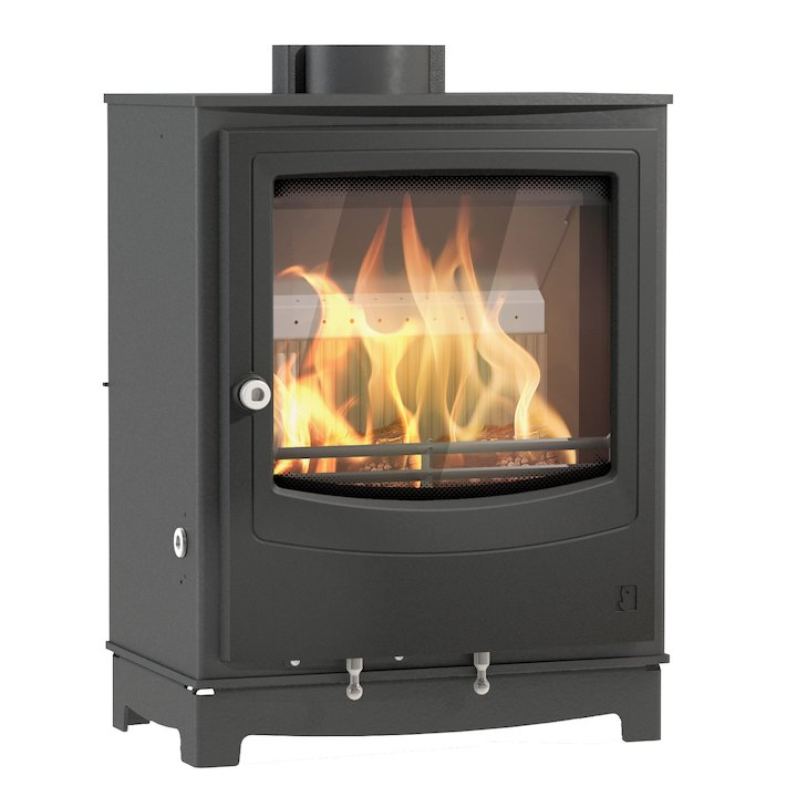 Arada Farringdon Small Multifuel Stove - Midnight Black