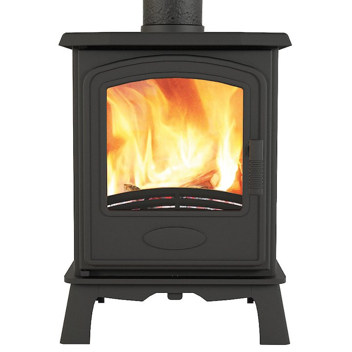 Broseley Hereford 5 Multifuel Stove - Black