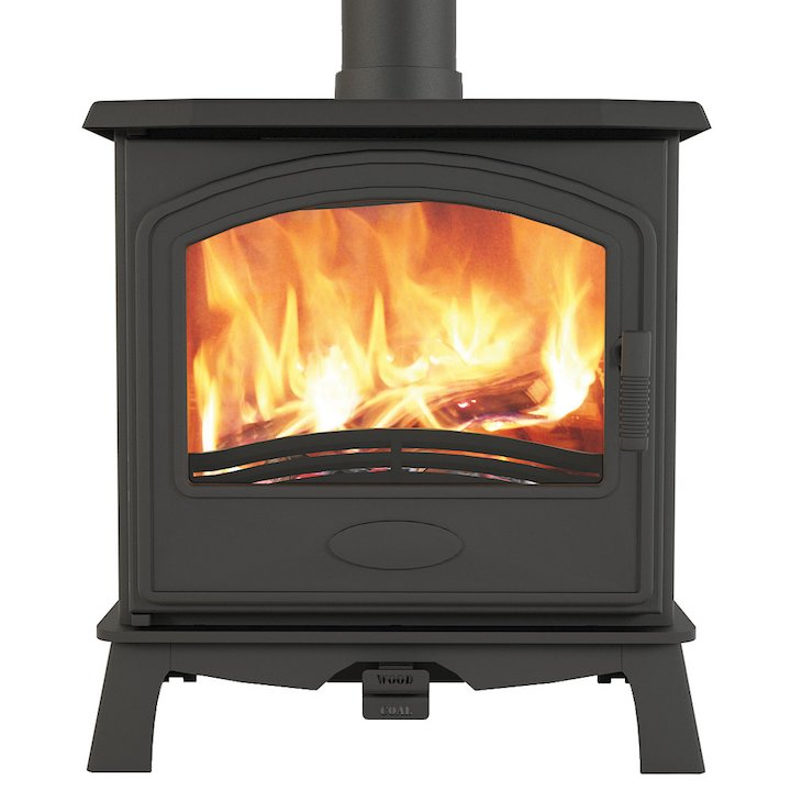 Broseley Hereford 7 Multifuel Stove - Black