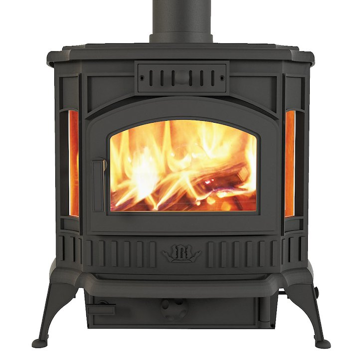Broseley Winchester Multifuel Stove - Black