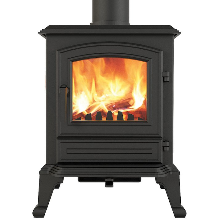Broseley York Midi Multifuel Stove - Black