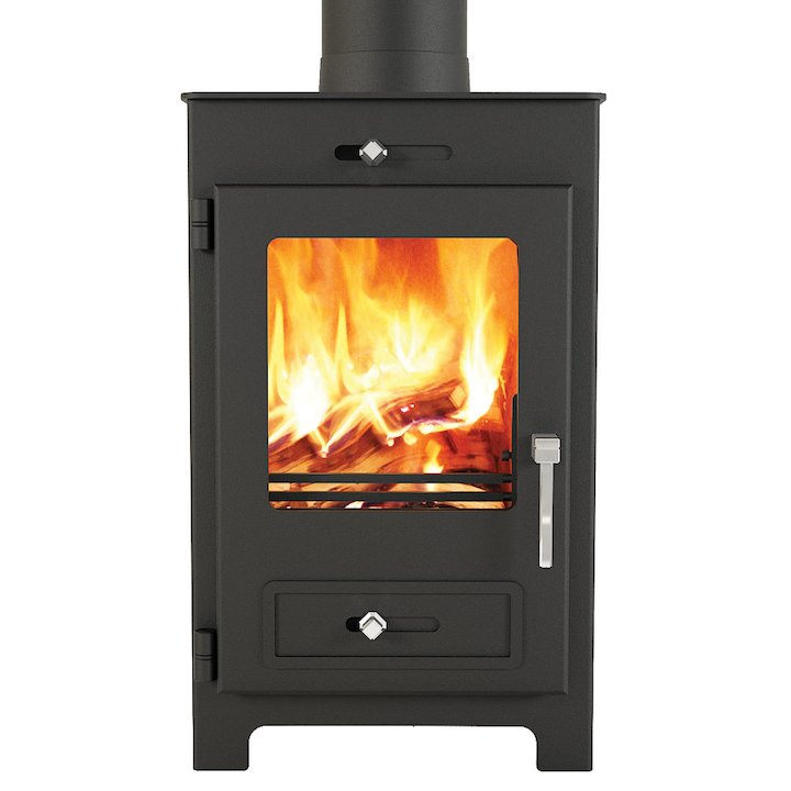Broseley Silverdale 5 Wood Stove - Black