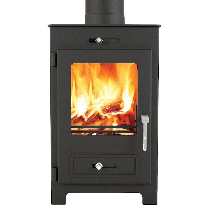 Broseley Silverdale 5 Wood Stove - Black