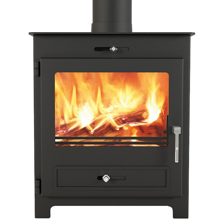 Broseley Silverdale 7 Wood Stove - Black