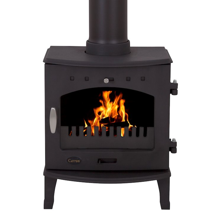 Carron 4.7 Multifuel Stove - Black