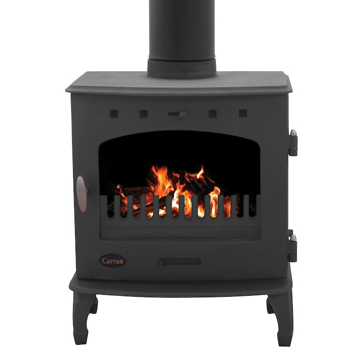 Carron 7.3 Multifuel Stove - Black