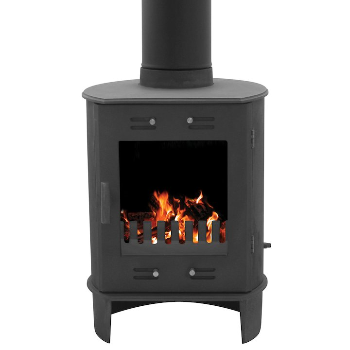 Carron Dante 5 Multifuel Stove - Black