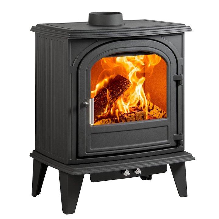Cleanburn Nordstrand 5 Multifuel Stove - Black