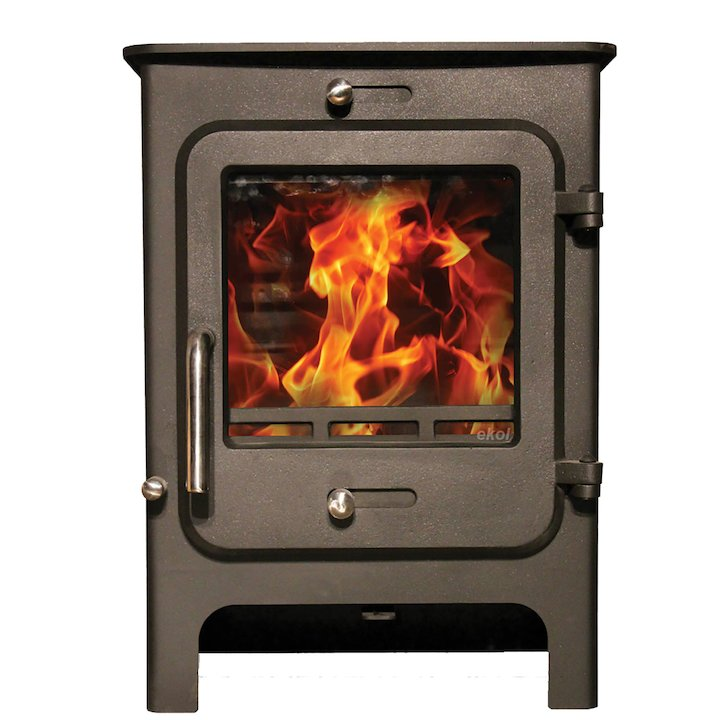 Ekol Clarity 5 Multifuel Stove - Black