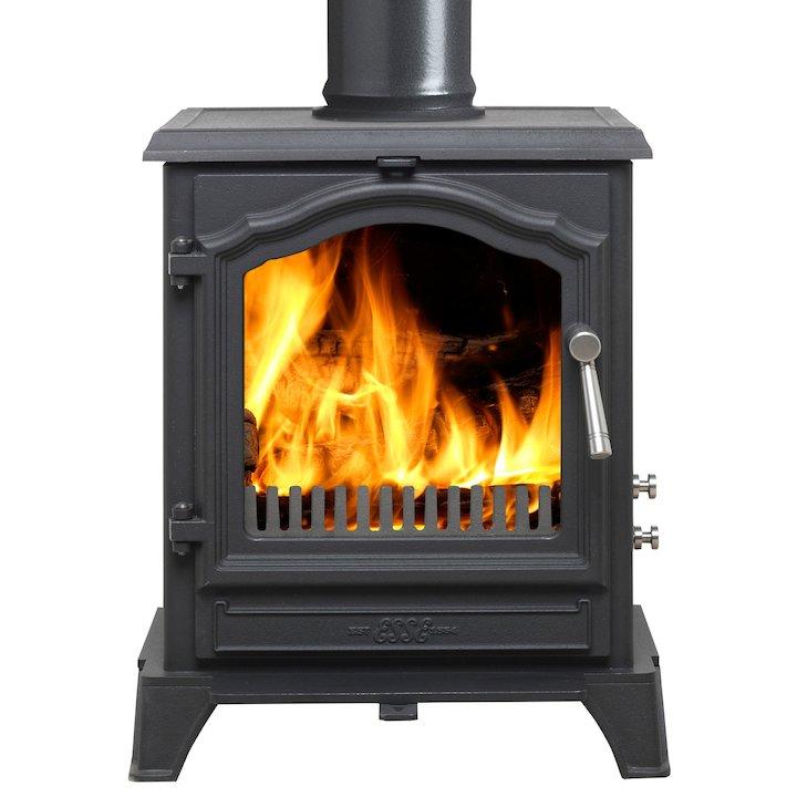 ESSE 500 Vista Multifuel Stove - Black