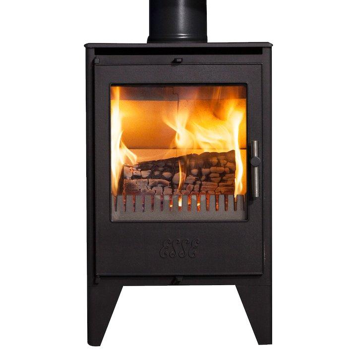 ESSE 550 Multifuel Stove - Black