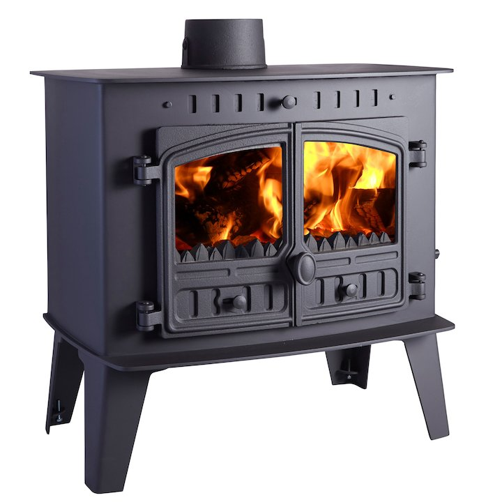 Hunter Herald Inglenook High Multifuel Stove