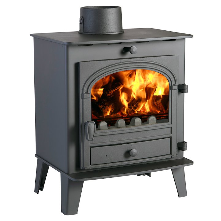 Parkray Consort 5 Compact Multifuel Stove - Black