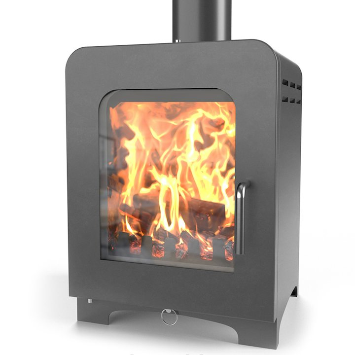 Saltfire ST2 Multifuel Stove - Charcoal