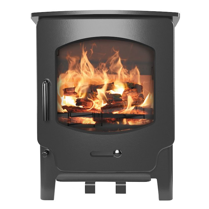 Saltfire ST X4 Multifuel Stove - Charcoal