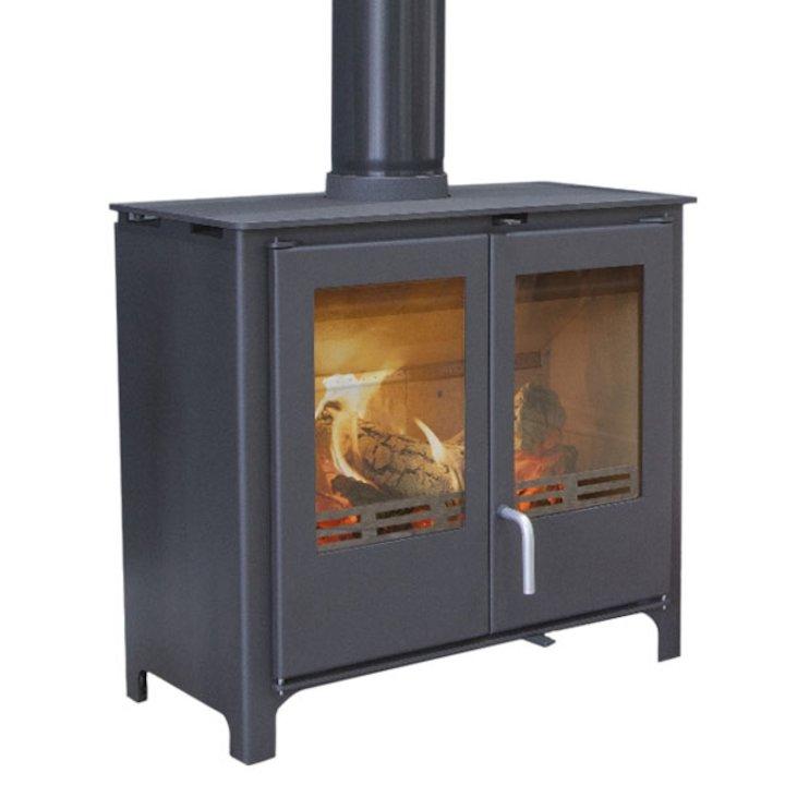 Beltane Midford 10 Wood Stove - Black