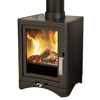 Broseley Evolution 5 Multifuel Stove Black Deluxe