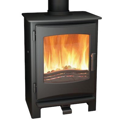 Broseley Evolution Desire/Ignite 5 Multifuel Stove Black Cast-Iron Door