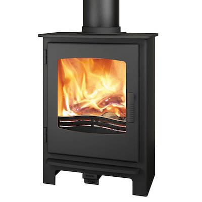Broseley Evolution Desire/Ignite 5 Multifuel Stove Black Steel Door