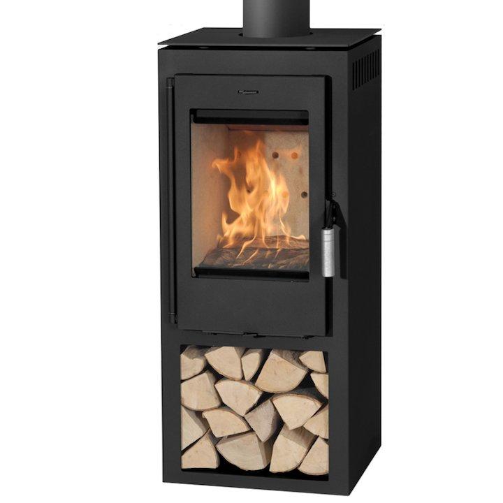 Danburn Samso Wood Stove - Black