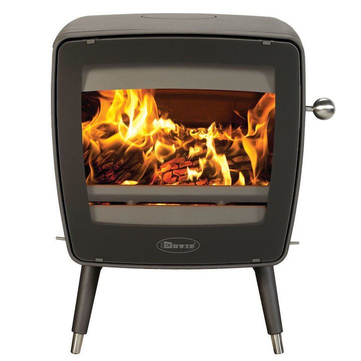 Dovre Vintage 35 Multifuel Stove - Anthracite
