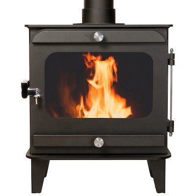 Firestorm 10 Multifuel Stove Anthracite Colour Matched Trim