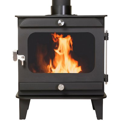 Firestorm 10 Multifuel Stove Black Colour Matched Trim