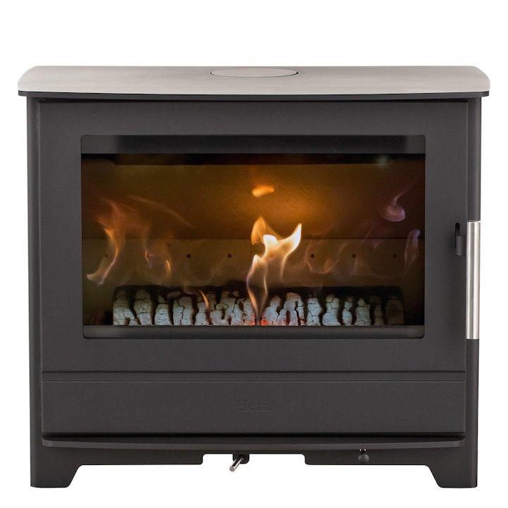 Heta Inspire 55 Multifuel Stove - Black