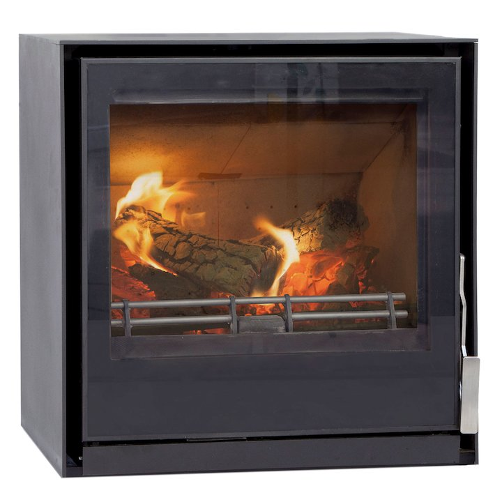 Mendip Christon 550 Multifuel Stove - Black
