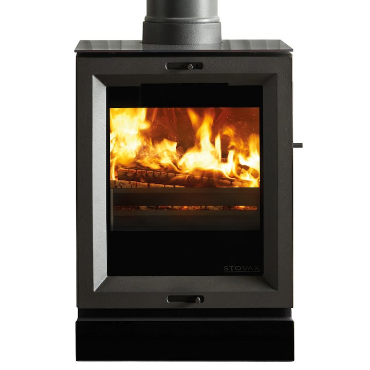 Stovax View 3 Multifuel Stove - Black