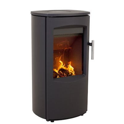 Heta Scanline 7B Multifuel Stove Black Steel Top Plate