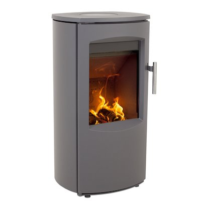 Heta Scanline 7B Multifuel Stove Grey Steel Top Plate
