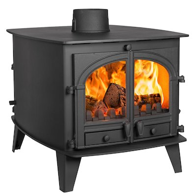 Parkray Consort 9 Double Sided Multifuel Stove - Double Depth
