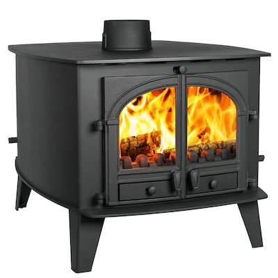 Parkray Consort 15 Double Sided Multifuel Stove - Double Depth