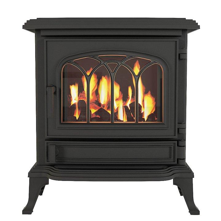 Broseley Canterbury Conventional Flue Gas Stove - Black