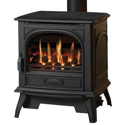 Dovre 280 Conventional Flue Gas Stove - Coals