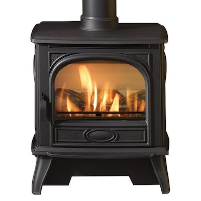 Dovre 280 Conventional Flue Gas Stove - Logs