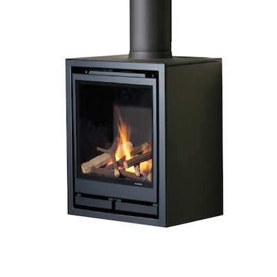 Wanders Square 40G Wall Mounted Balanced Flue Gas Stove