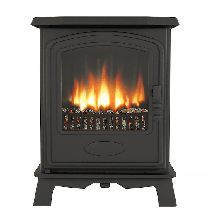Broseley Hereford 5 Electric Stove - Black