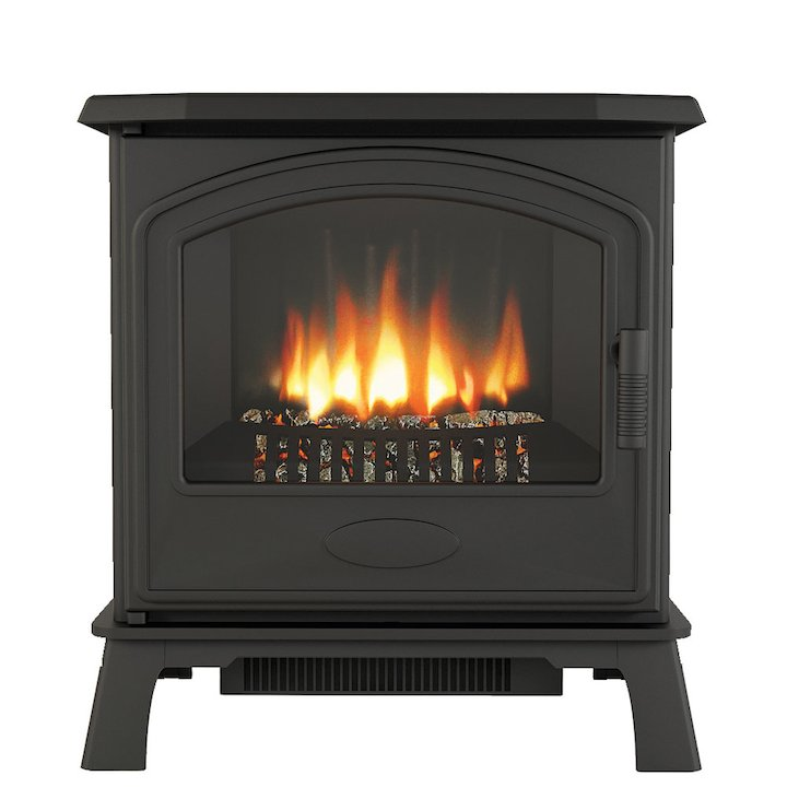 Broseley Hereford 7 Electric Stove - Black