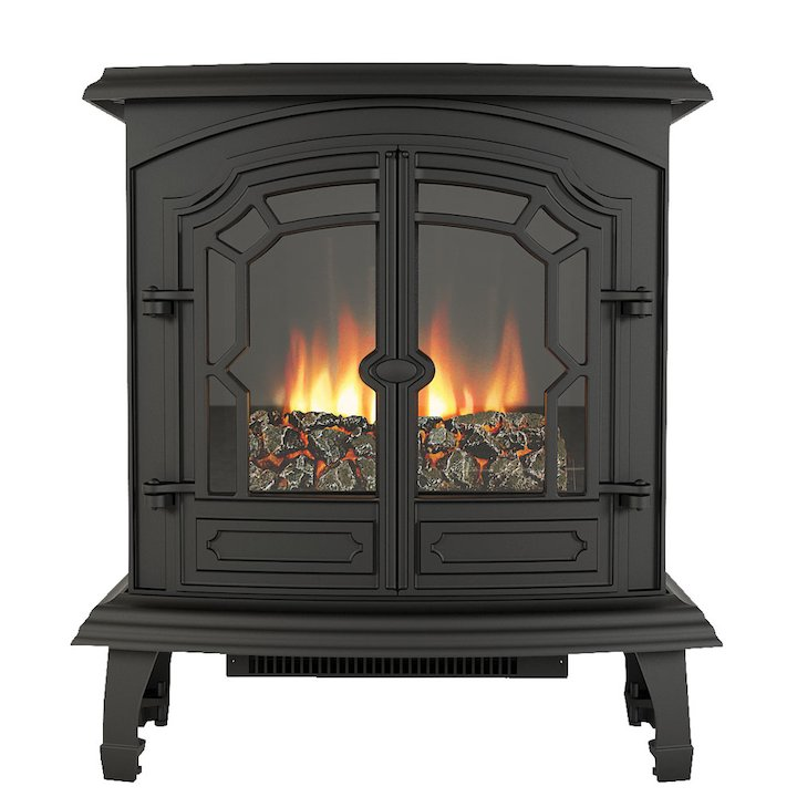 Broseley Lincoln Electric Stove - Black