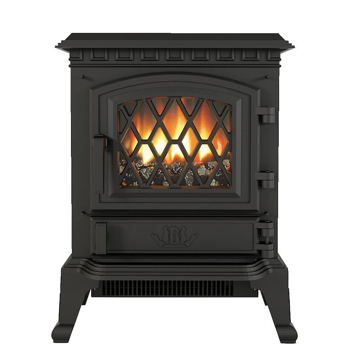 Broseley York Midi Electric Stove - Black