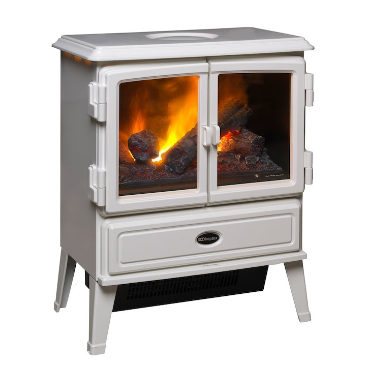 Dimplex Auberry Opti-Myst Electric Stove - White